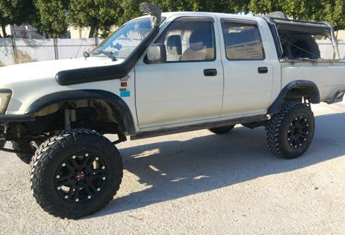Pickup with Toyo Tire